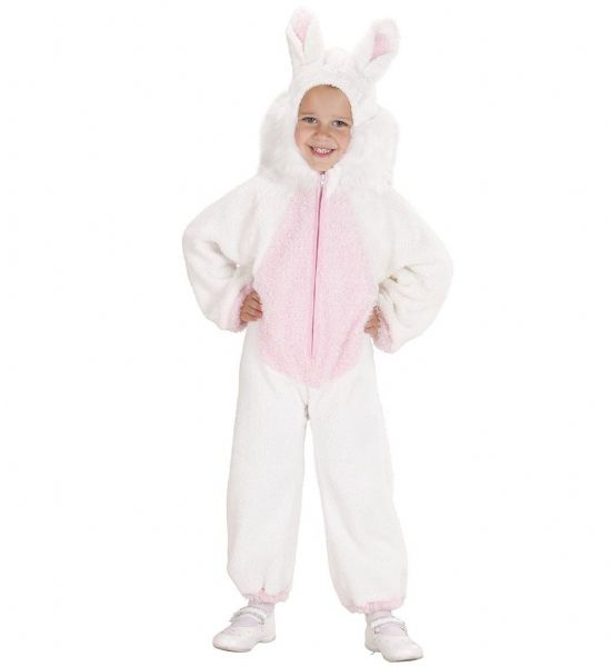 Toddler Fuzzy Bunny Toddler Costume Animal Fancy Dress